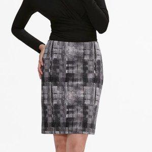 MM Lafleur Noho Skirt Scratch Plaid Black 4